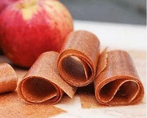 rollos de manzana