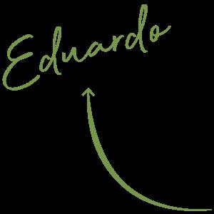 Flecha y nombre Eduardo