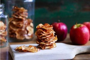 chips manzana canela miel